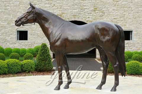 Garden Large Bronze Horse Sculpture For Sale