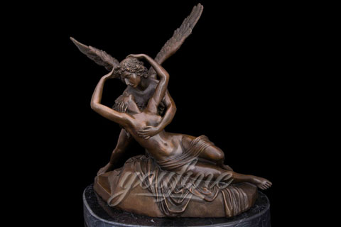 Hot Sale Classical Famous Cupid and Psyche Bronze Statue