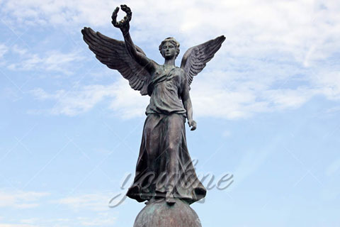 Large Bronze Angel Sculpture for Outdoor