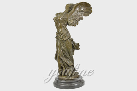 Outdoor Famous Bronze Victory Goddess Sculpture for Sale