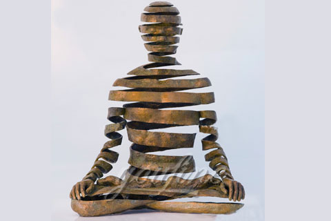 life size bronze abstract sculpture from china supplier